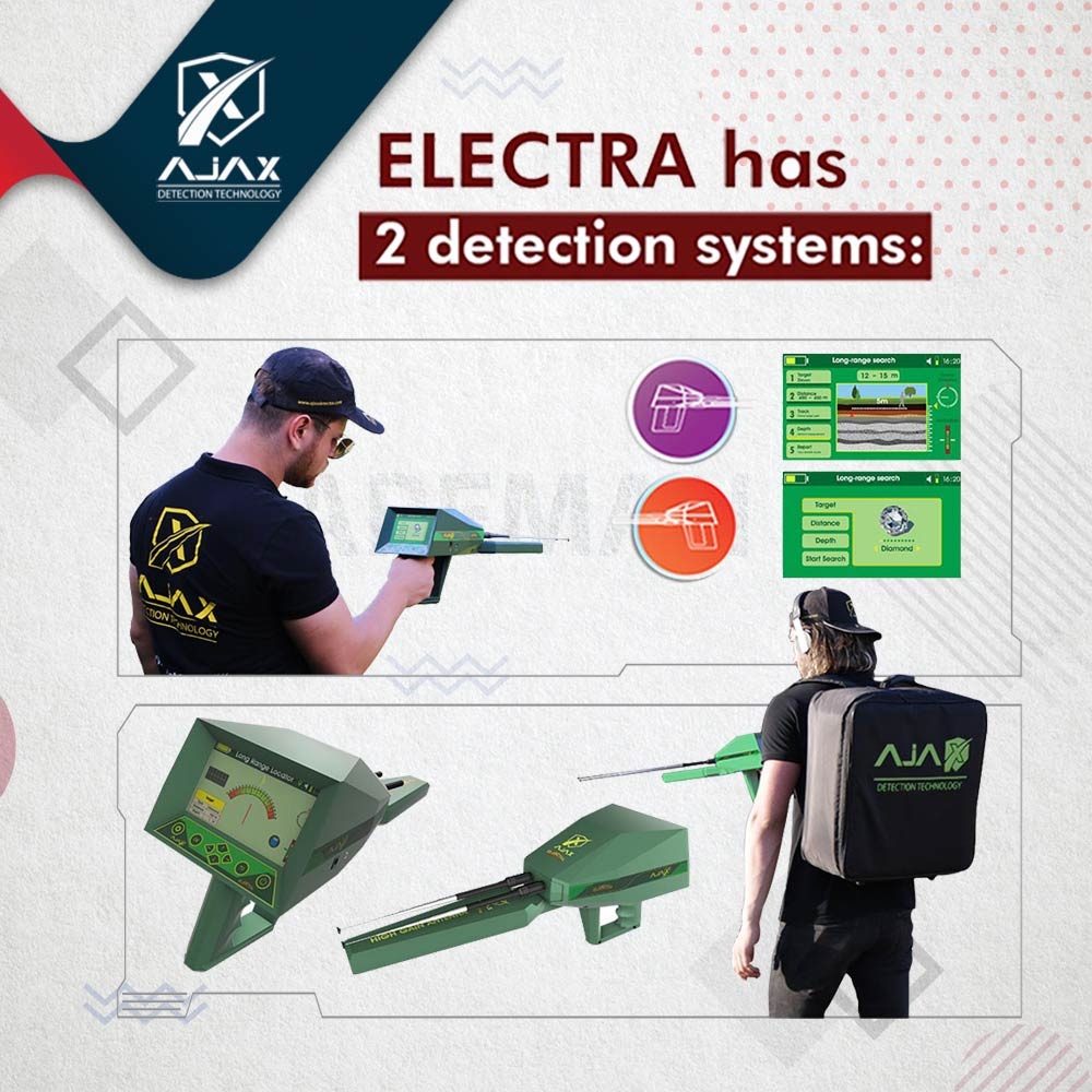 كم سعر جهاز الكشف عن المعادن Electra3