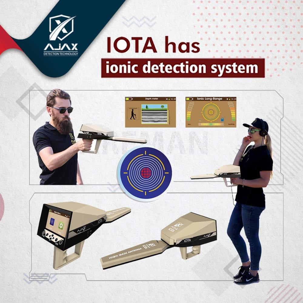 اجاكس ايوتا Iota Gold and metal detectors - Gold detector and treasures Alareeman اجهزة كشف الذهب والمعادن - جهاز كشف الذهب والكنوز العريمان
