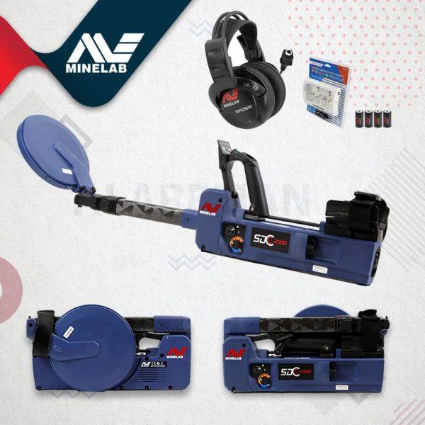 SDC 2300 الشركة المصنعة : MINELAB عمق البحث الأقصى : 1 م يكتشف الجهاز : الذهب الخام و جميع المعادن