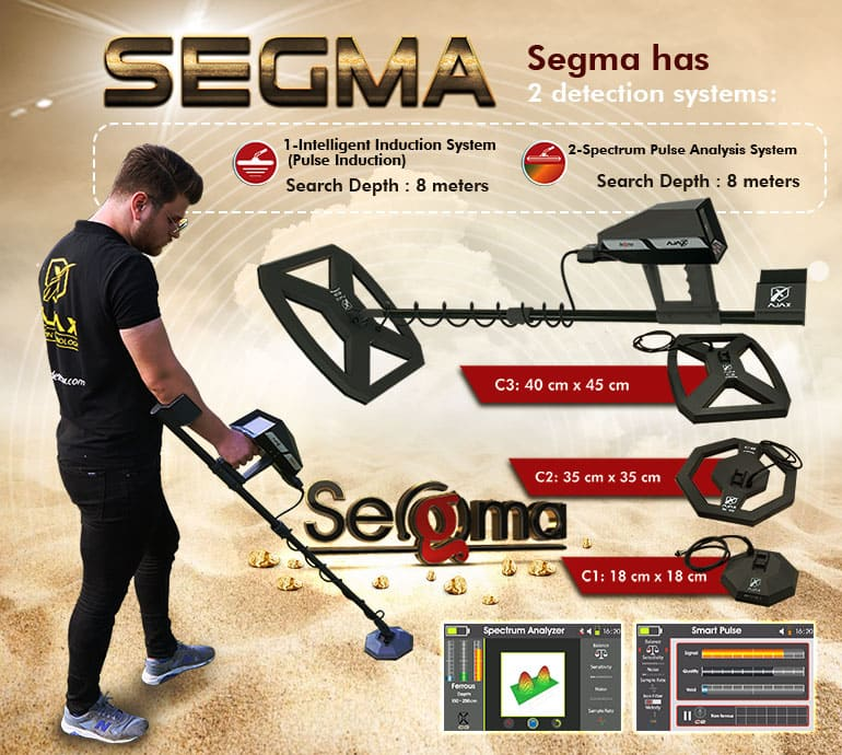Sigma gold detector is most sensitive to small gold pieces underground Gold and metal detectors - Gold detector and treasures Alareeman اجهزة كشف الذهب والمعادن - جهاز كشف الذهب والكنوز العريمان